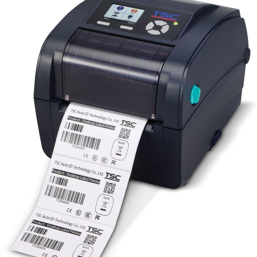 Thermal barcode label TSC TC300 imprimante a etiquettes code à barres
