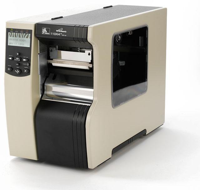 Thermal barcode label Zebra 110Xi4 imprimante a etiquettes code à barres