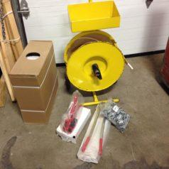 "Polypropylene strapping kit 1/2"""