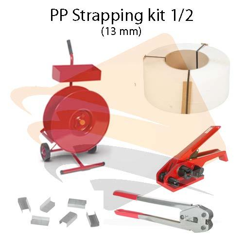 Polypropylene strapping kit 1/2""