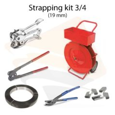 Steel strapping kit 3/4""