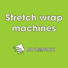 Stretch wrap machines